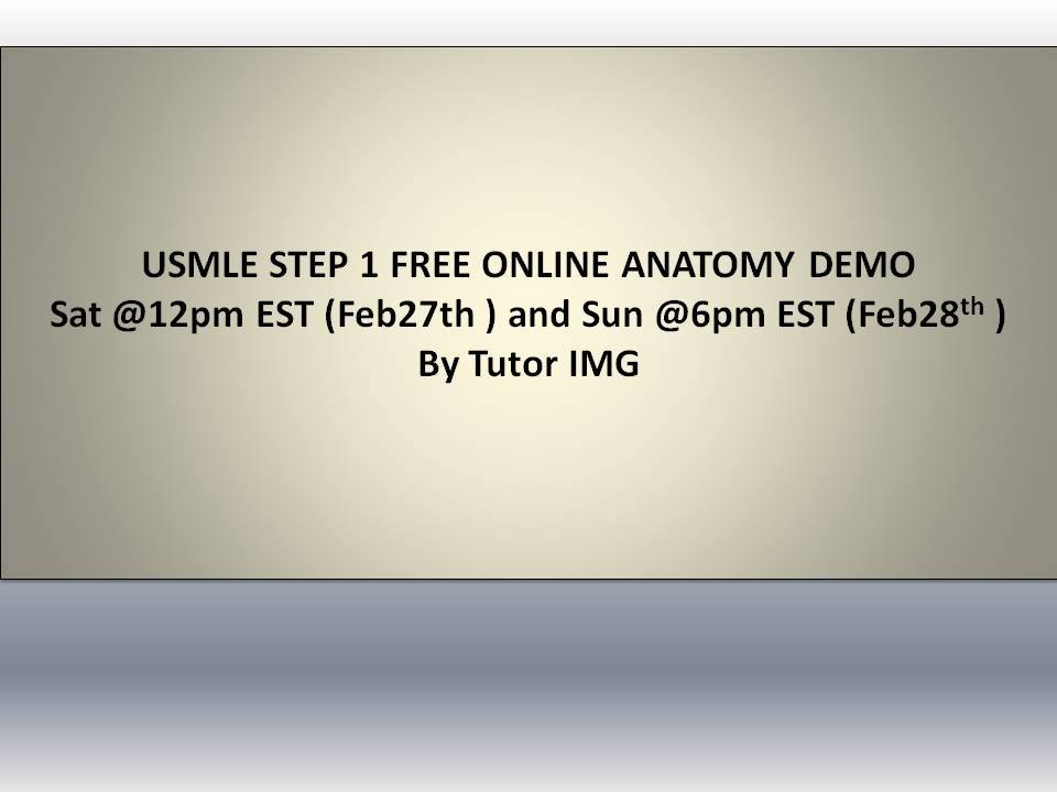 Free online demo on USMLE step 1 Anatomy (CN I, III, IV, VI)-10703993_1680668315527498_8533872551575060838_n.jpg