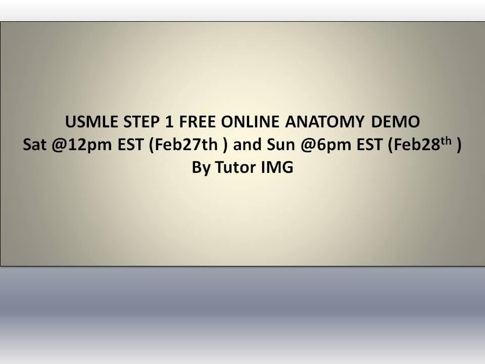 Free online demo on USMLE step 1 Anatomy (CN I, III, IV, VI)-10703993_1680668315527498_8533872551575060838_n.jpg