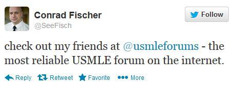 Conrad Fischer Recommends USMLE Forums-conrad-fischer-tweet.jpg